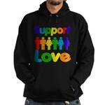 Support Love Hoodie (dark)
