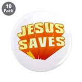 "Jesus 3.5"" Button (10 pack)"