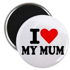 "I love my mum 2.25"" Magnet (100 pack)"