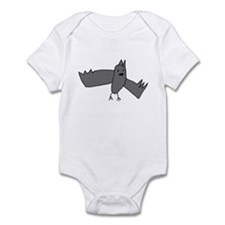 Bat (Gray) Infant Bodysuit