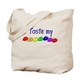 Taste my rainbow! Tote Bag