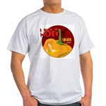 Capsaicin- Like It Hot Ash Grey T-Shirt