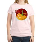 Capsaicin- Like It Hot Women's Pink T-Shirt