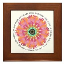 Stand Up For Life Framed Tile