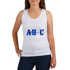 A B Conversation Women's Tank Top