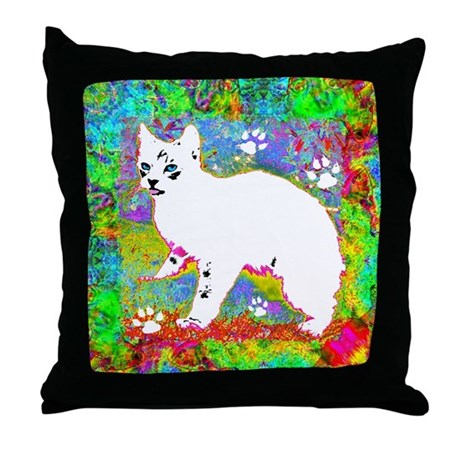 Little One Spring Throw Pillow