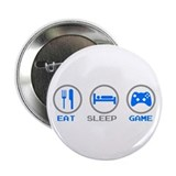 "Eat Sleep Game 2.25"" Button"