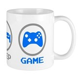 Eat Sleep Game Small Mug