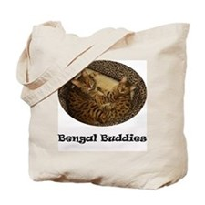 Cute Bengal cats Tote Bag