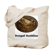 Cute Bengal cat Tote Bag
