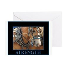 Parade Horse - Strength Greeting Card