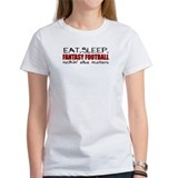 Eat Sleep Fantasy Football Tee