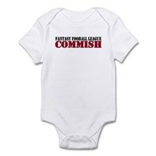 Fantasy Football Commish Infant Bodysuit