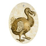 Disco Dodo Oval Ornament
