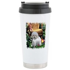 Bichon Frise Art Travel Mug