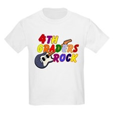 4th Graders Rock T-Shirt