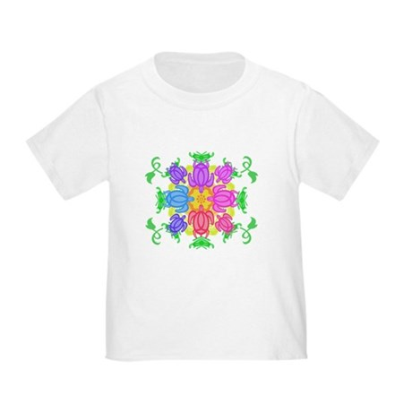 Flower Turtles Toddler T-Shirt