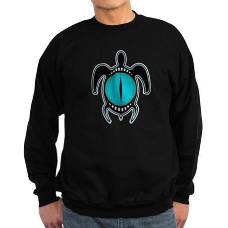 Cat's Eye Turtle Sweatshirt (dark)