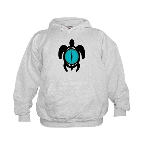 Cat's Eye Turtle Kids Hoodie