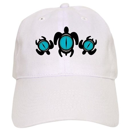 Three Cat's Eye Turtles Cap