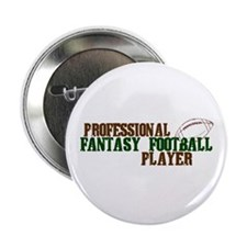 "Pro Fantasy Football Player 2.25"" Button"