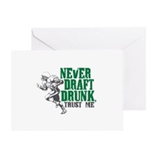 Fantasy Football Draft Drunk Greeting Card