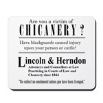 Lincoln & Herndon Mousepad