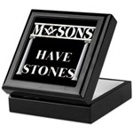 Masons Stones Keepsake Box