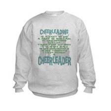 Become a Cheerleader Sweatshirt
