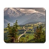 Unique Mt. rainier Mousepad