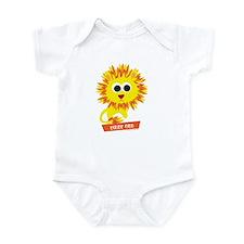 Fiery Cub Lion Infant Bodysuit