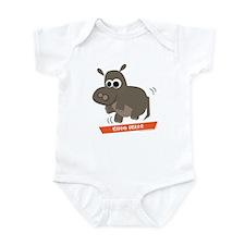 Hippo Shake tee Infant Bodysuit