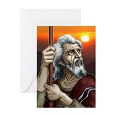 """The Patriarch"" Greeting Card"