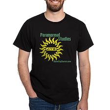 ATS Paranormal Studies Black T-Shirt
