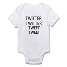 Twitter Twitter Tweet Tweet Infant Bodysuit