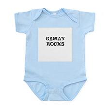 GAMAY ROCKS Infant Creeper