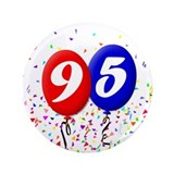 95th Birthday 3.5&quot; Button (100 pack)