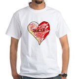 Dancer Love Scribbles Shirt
