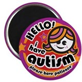Cute Autism advocacy Magnet
