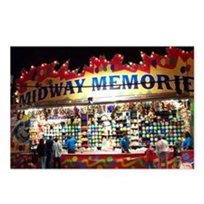 Midway Memories Postcards (Package of 8)