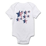 U.S.A Stars Infant Bodysuit