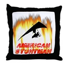 Hang Glider Throw Pillow