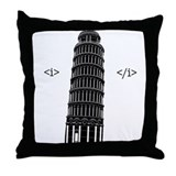 Volterra, italy Throw Pillow