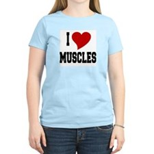 I Love Muscles T-Shirt