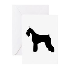 Silhouette #3 Greeting Cards (Pk of 10)