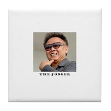Kim Jong Il Tile Coaster