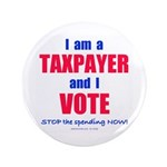 "I VOTE! 3.5"" Button (100 pack)"