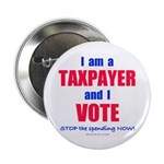 "I VOTE! 2.25"" Button (100 pack)"