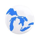 Great Lakes 3.5&quot; Button