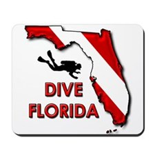 Dive Florida Mousepad